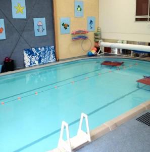 Pool deck at Splashed!